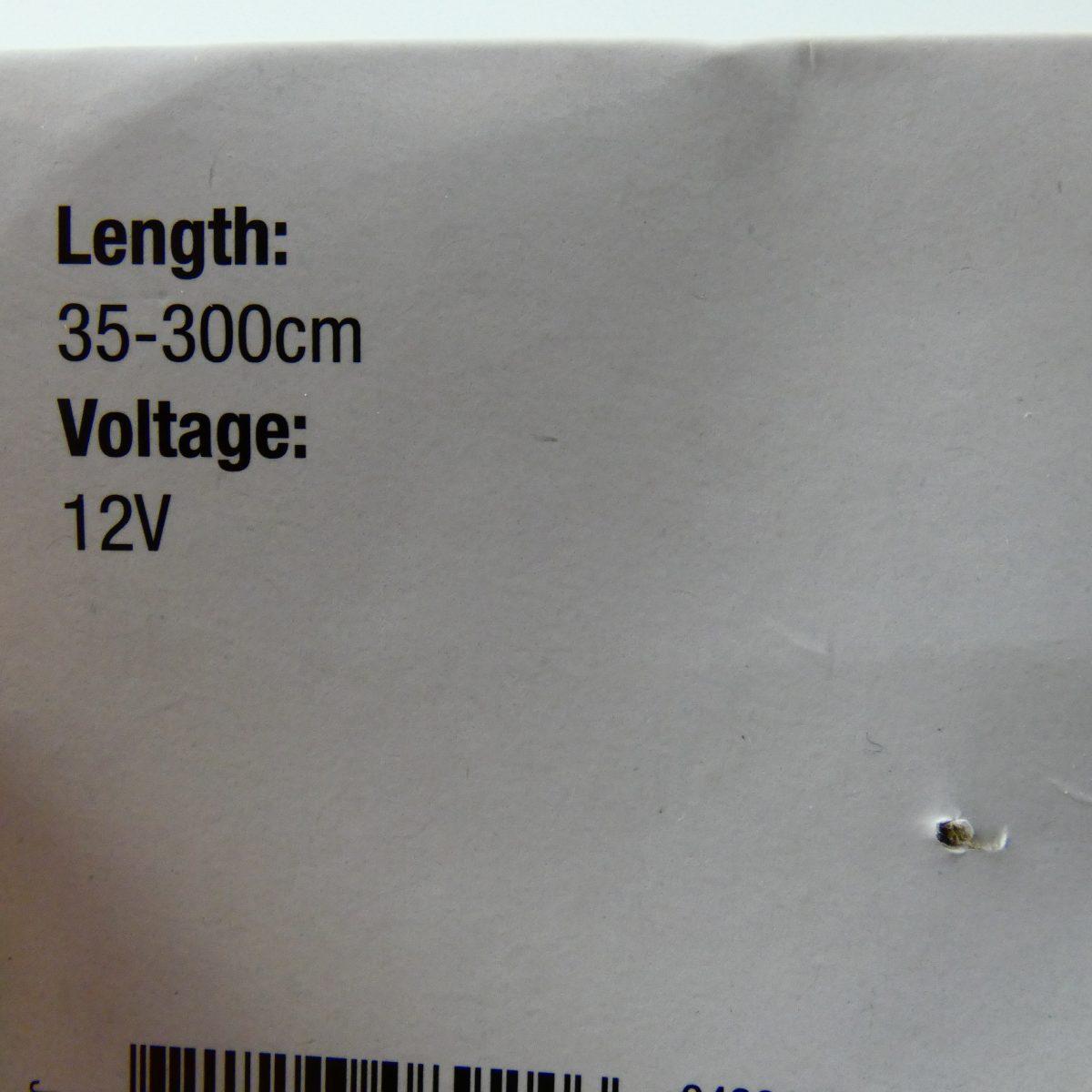 Verlengkabel 7 polig 35-300cm