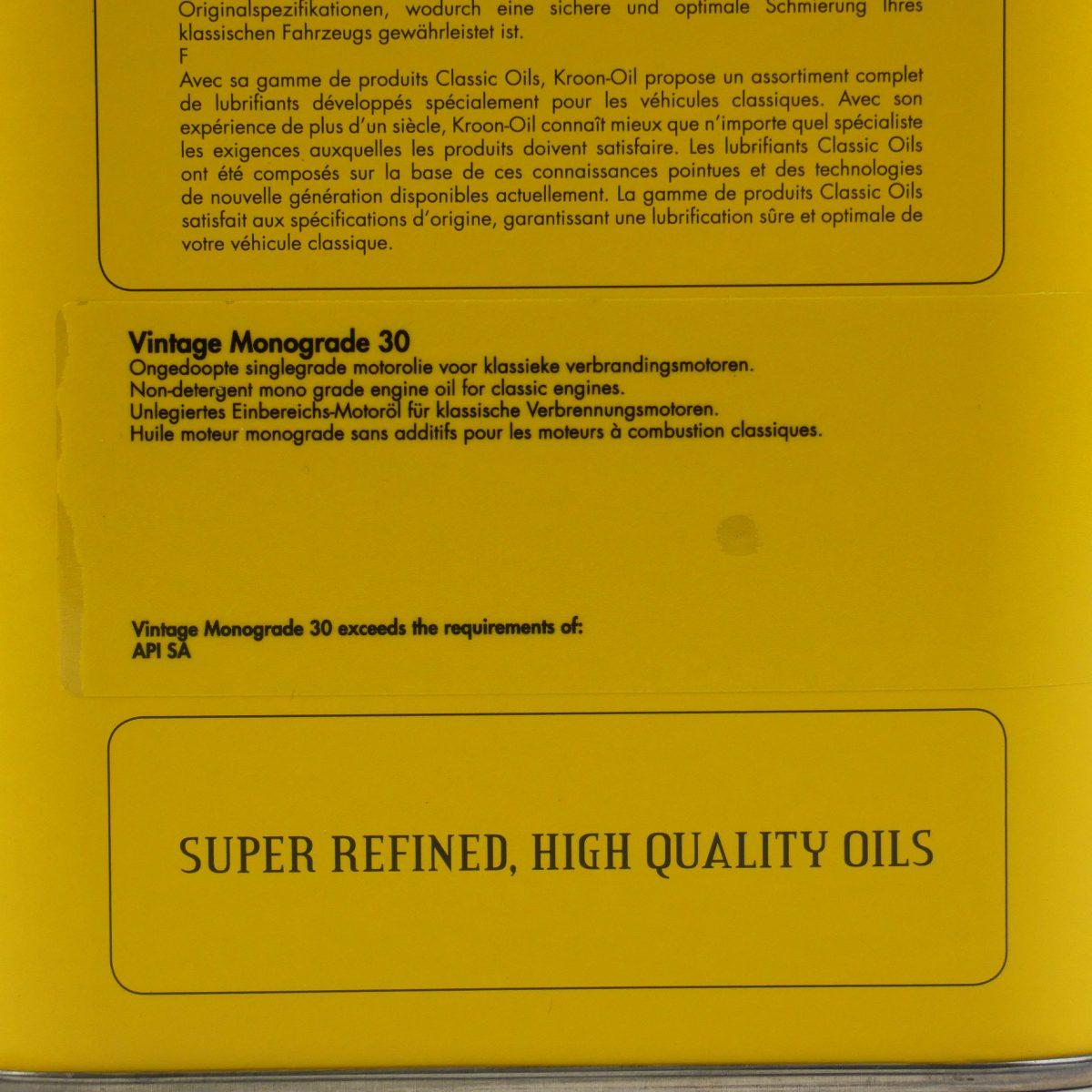 Kroon Oil Classic Dosgros