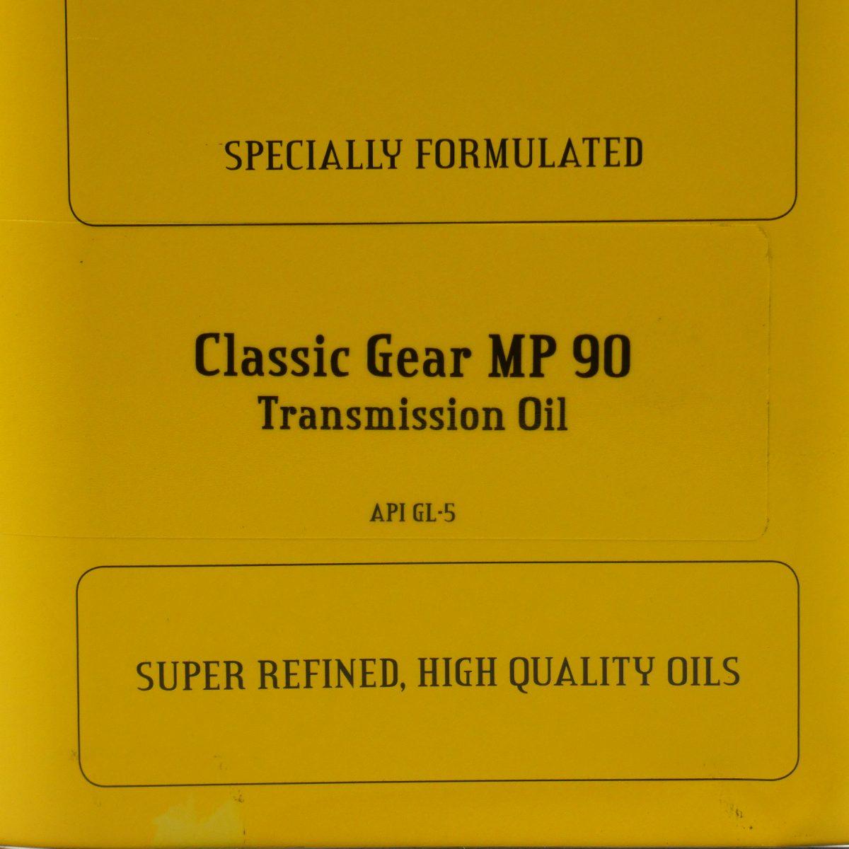 A merk olie voor klassieker