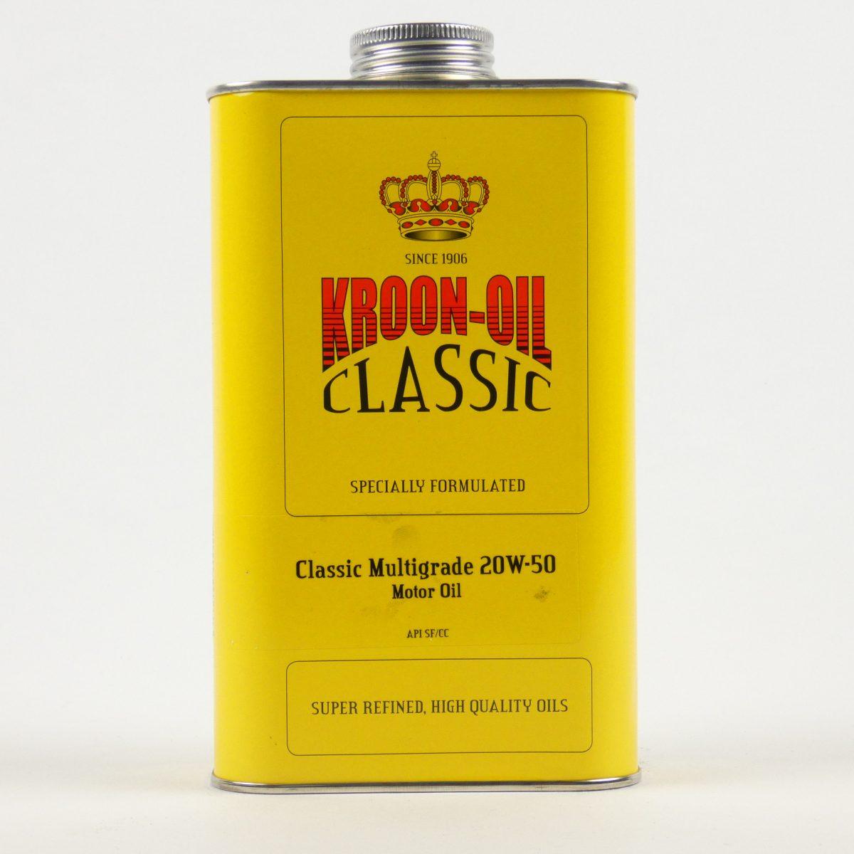 Kroon-oil classic olie voor oldtimer te halen in Drachten en Oosterwolde