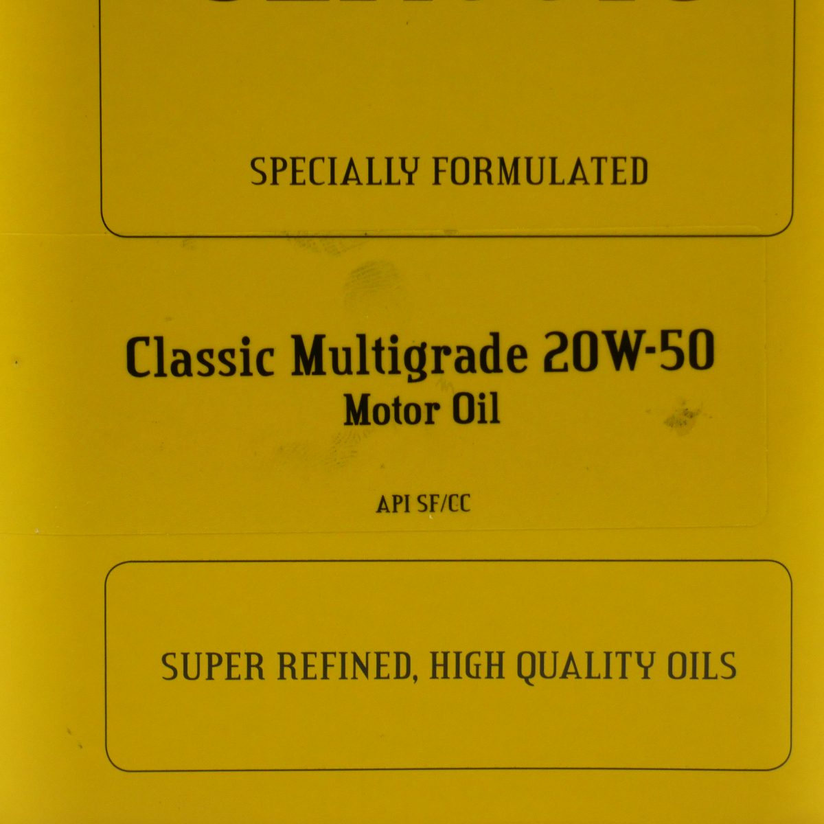Classic motorolie 20W-50
