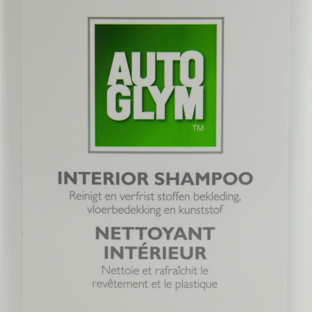 Autoglym car interior shampoo 500ML