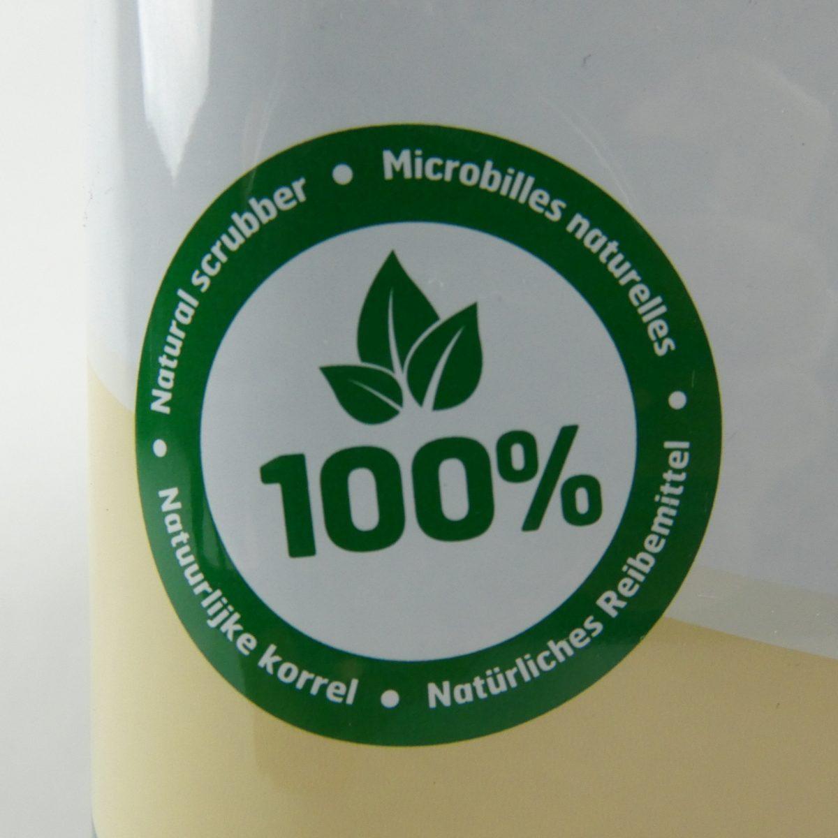 nstuurlijke korrels 100% zeep