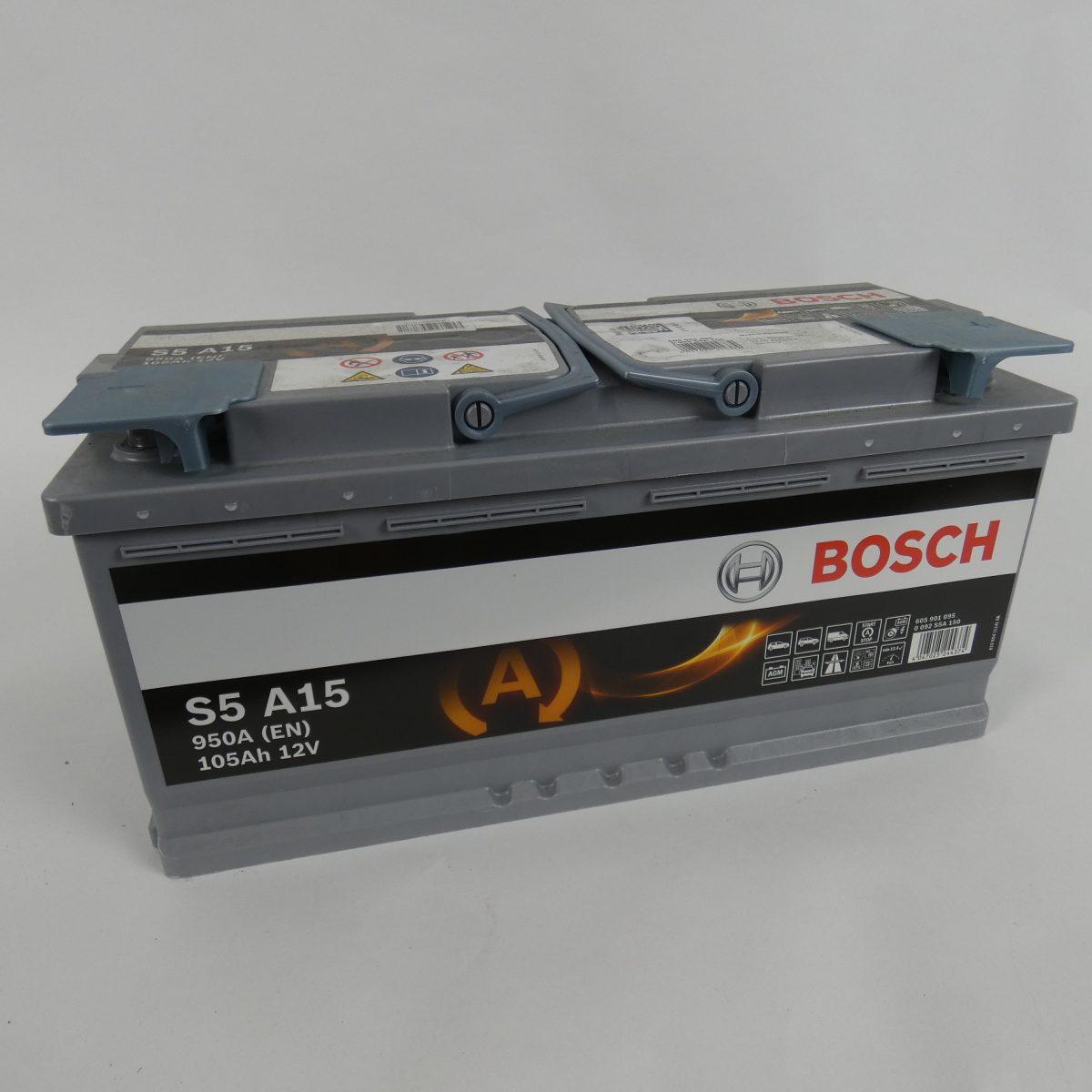 105Ah Bosch camper accu