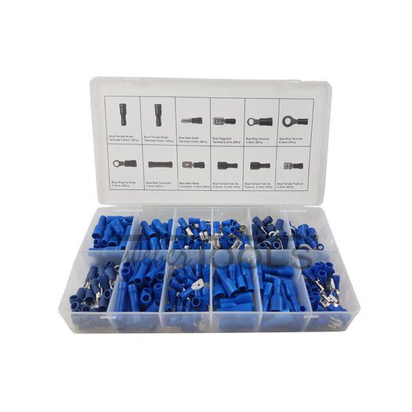 goedkoop blauwe kabelverbinders assortiment kopen
