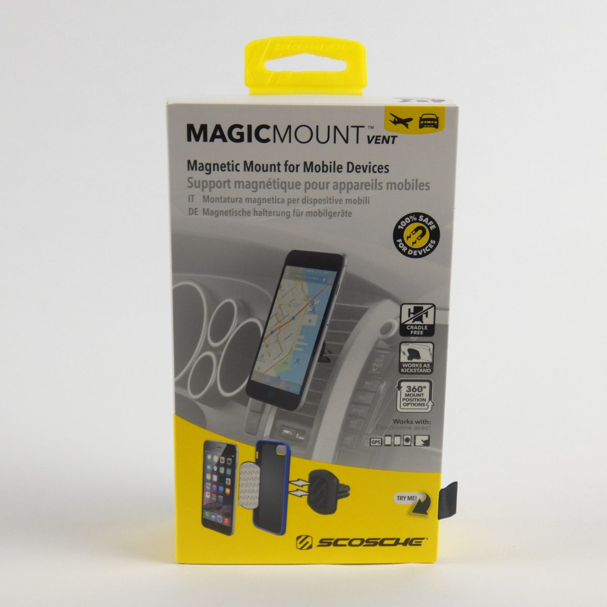 Stickgrip kwaltieithouder Magicmount boetevrij